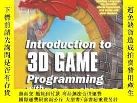 二手書博民逛書店Introduction罕見To 3D Game Programming With Directx 9.0 (Wo