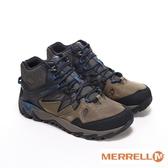 MERRELL(男) GORE -TEX 高筒郊山健行鞋- 橄欖綠