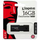 [哈GAME族]滿399免運費 可刷卡 金士頓 16GB USB3.0 隨身碟 DT100G3 時尚黑 滑蓋式設計 相容USB2.0