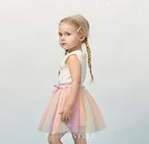 女童紗裙半身裙1-3歲女寶寶夏裝裙子嬰兒短裙兒童公主裙 新年禮物