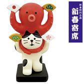 Hamee 日本 DECOLE concombre 落語漫才系列 療癒公仔擺飾 (章魚貓咪組合) 586-922494