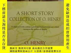 二手書博民逛書店A罕見SHORT STORY COLLECTION OF O.H