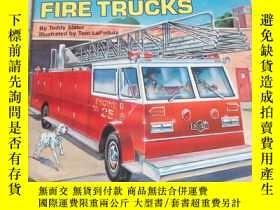 二手書博民逛書店all罕見aboard fire trucksY212829