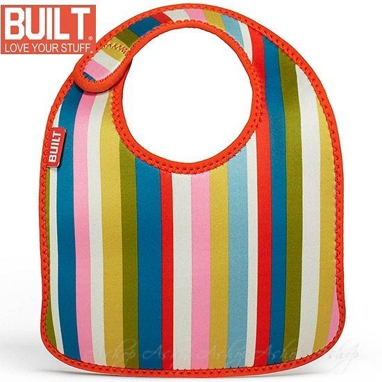 【A Shop】 BUILT NY Mess Mate Infant Bib 嬰孩必用專用圍兜兜 BBY-MMBB系列 共3款(1組2入)