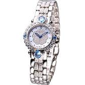 Ogival 愛其華 山茶花 黃玉系列 珠寶錶(305-11DLR)藍寶