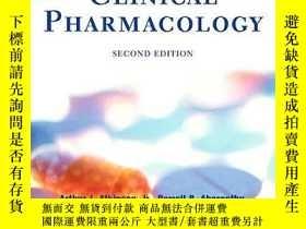 二手書博民逛書店Principles罕見Of Clinical PharmacologyY364682 Arthur J. A