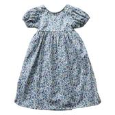 女童碎花襯衫2019夏季新品韓版泡泡袖薄款洋氣鏤空露背寶寶上衣潮 嬌糖小屋