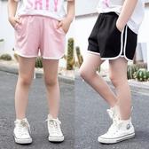 女童短褲夏2020新款清涼簡約中大童夏裝寬鬆彈力百搭棉麻兒童熱褲 艾瑞斯居家生活