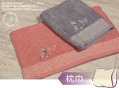 比得兔/彼得兔 提緞精繡枕頭巾/枕巾-PR475PT(1入)【YS SHOP】