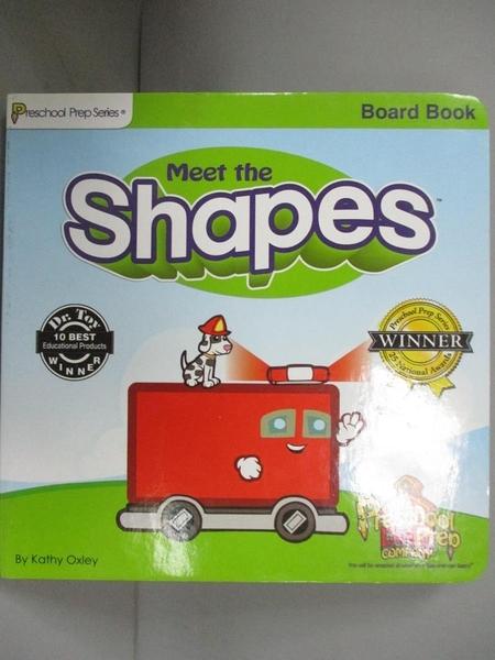 【書寶二手書T1/少年童書_KOI】Meet the Shapes_Kathy Oxley
