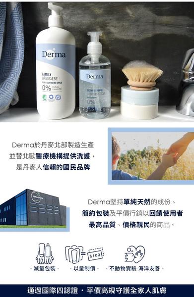 丹麥 Derma 保濕洗手露250ml