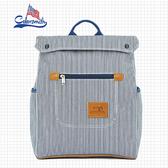 【COLORSMITH】BL.小型方形質感後背包.BL1325-BW-S
