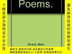 二手書博民逛書店Darker;罕見Poems.Y256260 Mark Strand Scribner 出版1970