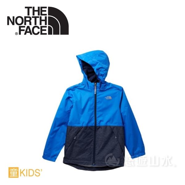 【The North Face 男童 DV刷毛保暖外套《湖藍》】NF0A2RCU49W/刷毛保暖/防水透氣/兒童外套