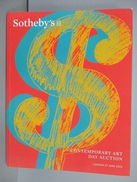【書寶二手書T4/收藏_QMK】Sotheby s_Contemporary Art Day Auction_2019/