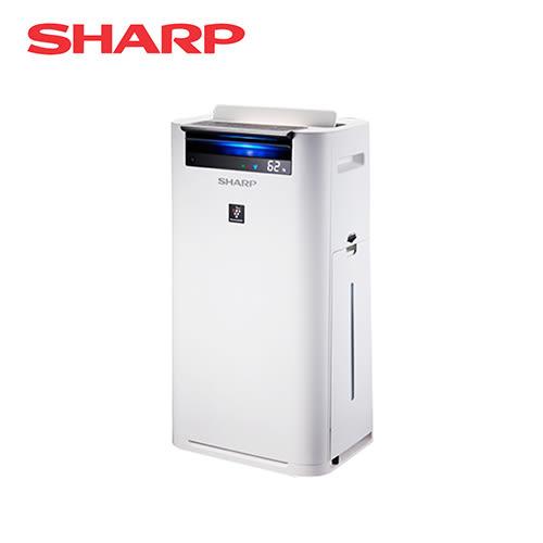 [SHARP 夏普]日本進口 12坪 自動除菌離子清淨機 KC-JH50T-W
