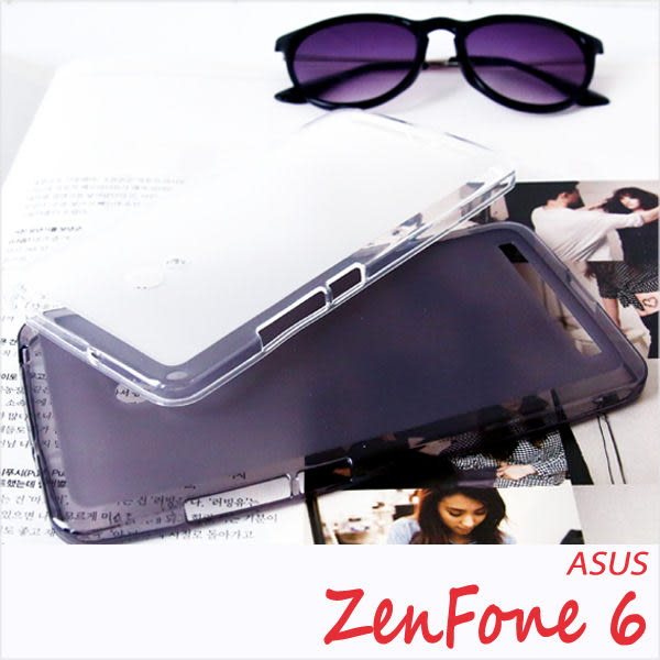 ASUS ZenFone 6 半透明軟膠保護套 清水套 布丁套 軟殼 保護殼