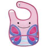美國Skip Hop Zoo Bib 女寶寶 嬰兒防水吃飯動物圍兜 蝴蝶【ERSK010010008】