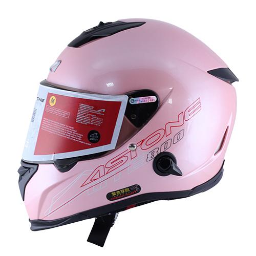 【東門城】ASTONE GTB800 AO12 淺粉紅 全罩式安全帽 雙鏡片