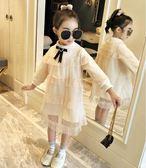 女童洋裝 加絨連身裙中大童寶寶公主裙
