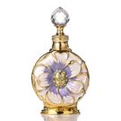 杜拜原裝特色魅力無酒精香水 持香24小時美麗永在線 以愛之名為美而生的精緻女孩 紋鏽琺瑯雕花古董瓶