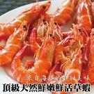 【買2送2】新鮮活凍草蝦 共4盒(16-20尾/盒)