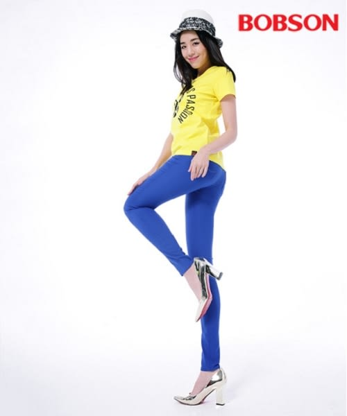 BOBSON 女款印圖T恤(26141-30)