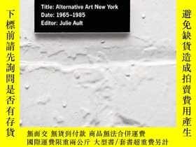 二手書博民逛書店Alternative罕見Art New York, 1965-