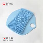 【日本東和TOWA】【日本東和TOWA】易起泡防滑矽膠按摩足底搓腳墊 (美體 美足 免彎腰 懶人 孕婦)