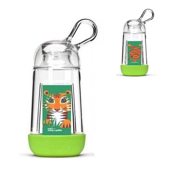 【虎兒寶】COQENPATE 法國無毒環保BB瓶 - 綠色
