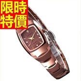 鑽錶-可愛流行魅力鑲鑽女腕錶9色62g10[時尚巴黎]