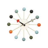 時鐘 手錶 掛鐘 鐘 簡約 壁鐘 【R0009】GN Ball Clock 經典彩球鐘/時鐘(兩色) 收納專科