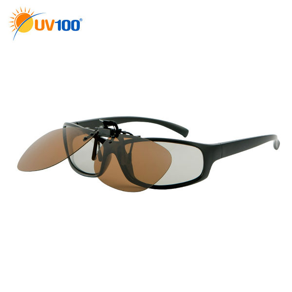 UV100 防曬 抗UV 偏光夾掛式眼鏡-眼鏡族最愛Polarized