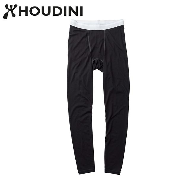 瑞典【Houdini】M`s Desoli Tight 男款美麗諾內層褲 純黑