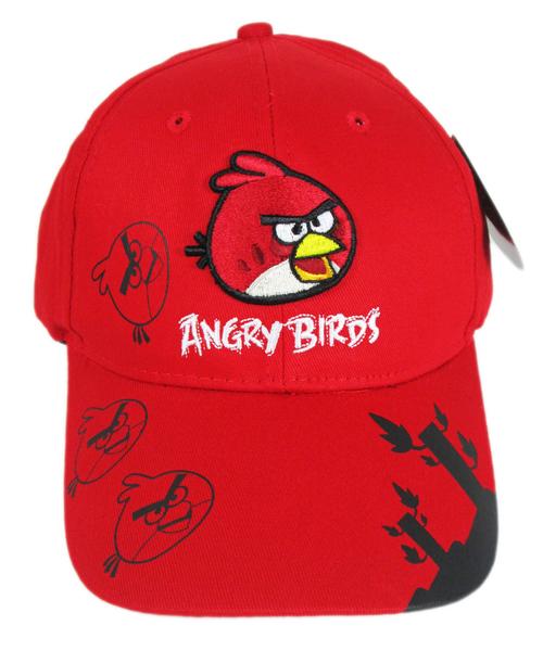 【卡漫城】 憤怒鳥 帽子 繡字森林 紅鳥 青少年 成人 遮陽 網球帽 棒球帽 Angry birds 遮陽帽