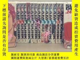 二手書博民逛書店【預定】中古漫畫灌籃高手Slam罕見Dunk完全版全24卷完結日