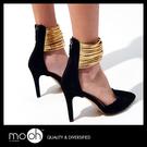 尖頭高跟鞋 羅馬涼鞋 歐美時尚細跟繞腳高...