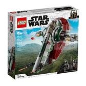 【南紡購物中心】【LEGO 樂高積木】Star Wars 星際大戰系列 - 波巴費特的星際飛船 75312