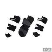 NIKE 短襪 踝襪 條紋 三雙入 NSW WOMENS -3PPK NO - SX5446901