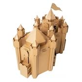 兒童帳篷紙房子兒童手工diy塗鴉玩具屋公主城堡幼兒園帳篷遊戲屋完美