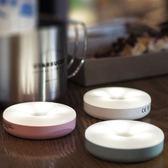 LED充電觸摸感應調光小夜燈磁鐵吸附宿舍神器臥室床頭壁燈/強安 蒂小屋服飾