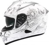 【東門城】ASTONE GTB II37 (白銀) 全罩式安全帽 雙鏡片