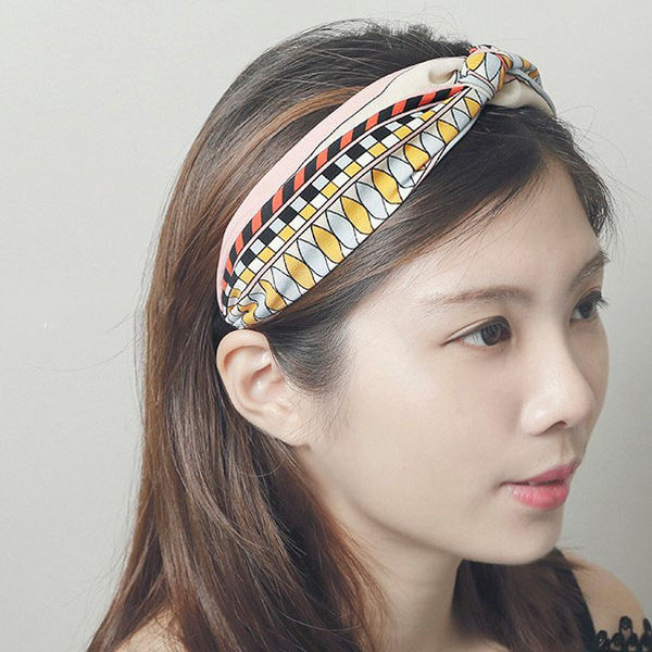 正韓民俗圖騰髮箍髮飾~夏綠蒂didi-shop