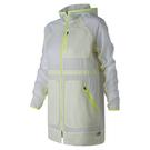 New Balance 女裝 外套 休閒 防風 防潑水 透氣 拉鍊口袋 透明 白【運動世界】WJ81120WT