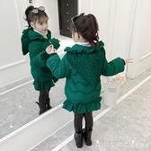 女童棉衣冬裝2020新款韓版中大童洋氣兒童加厚棉襖小女孩羽絨棉服 漾美眉韓衣