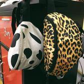 側背包街拍豹紋潮時尚個性胸包腰包單肩包小斜挎包女包包·樂享生活館