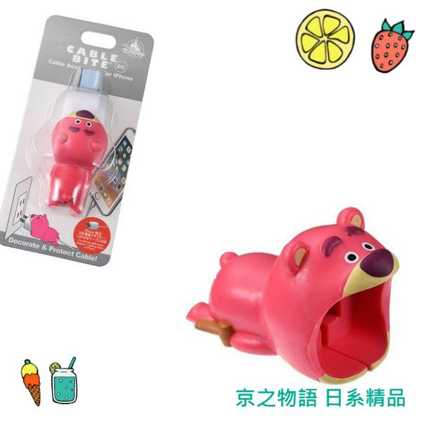 【京之物語】日本迪士尼 Cable Bite熊抱哥咬咬豆腐頭保護套iphone限定 現貨