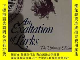 二手書博民逛書店An罕見Exaltation of LarksY190912 j