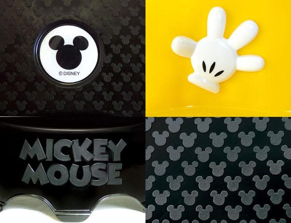 日本 迪士尼 Disney 米奇造型2層式小板凳-黃