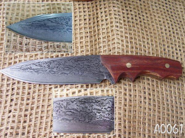 郭常喜與興達刀具--郭常喜限量手工刀品-積層鋼藝術刀(A0061)